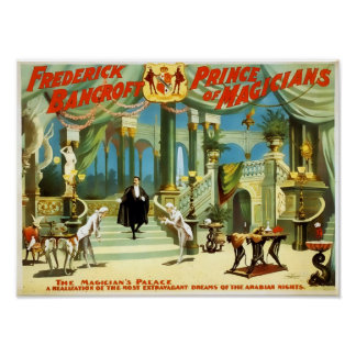 Frederick Bancroft Vintage Poster