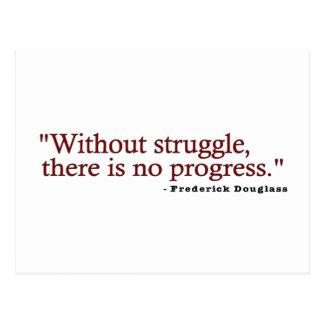 Frederick Douglas Quote Postcards