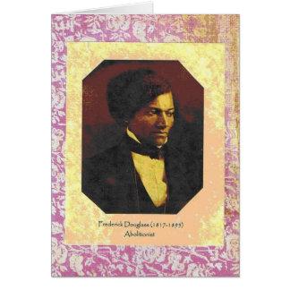 Frederick Douglass Greeting Card