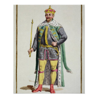 Frederick II (1534-88) King of Denmark from 'Receu Poster