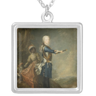 Frederick II as Crown Prince, c.1735 Silver Plated Necklace