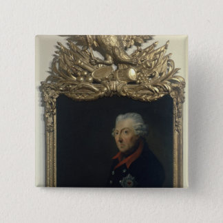 Frederick II of Prussia 15 Cm Square Badge