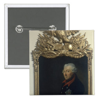Frederick II of Prussia 15 Cm Square Badge