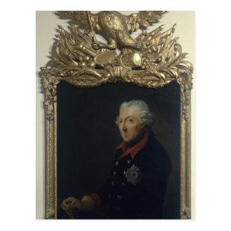 Frederick II of Prussia Postcard