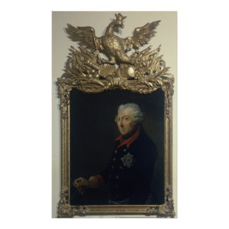 Frederick II of Prussia Poster