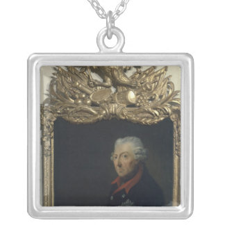 Frederick II of Prussia Silver Plated Necklace