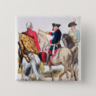 Frederick II  the Great 15 Cm Square Badge