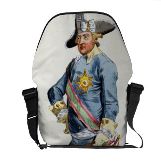 """Frederick II """"the Great"""" (1712-86) King of Prussia Commuter Bag"""