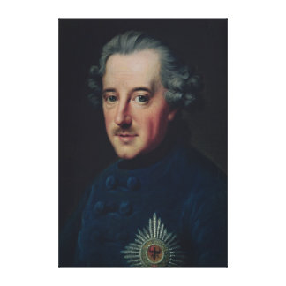 Frederick II the Great Canvas Print