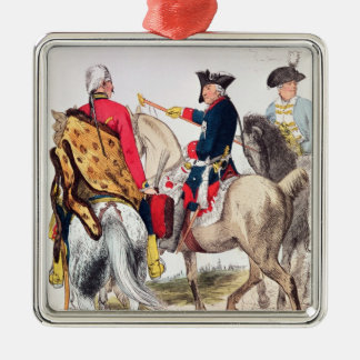 Frederick II  the Great Christmas Ornament