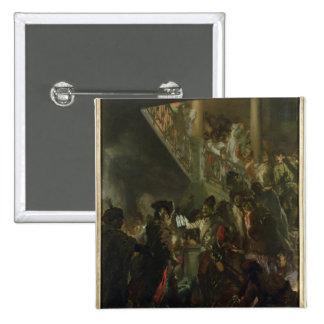 Frederick II the Great, in Lissa, Bonsoir 15 Cm Square Badge