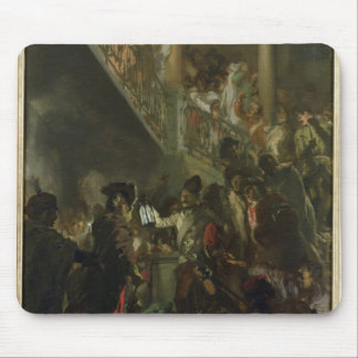 Frederick II the Great, in Lissa, Bonsoir Mouse Mat