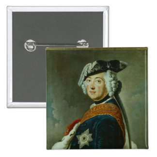 Frederick II the Great of Prussia 15 Cm Square Badge
