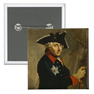 Frederick II the Great of Prussia, 1764 15 Cm Square Badge