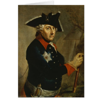 Frederick II the Great of Prussia, 1764 Card