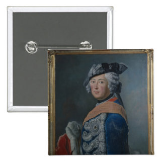 Frederick II the Great of Prussia, after 1753 15 Cm Square Badge