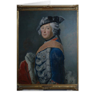 Frederick II the Great of Prussia, after 1753 Card