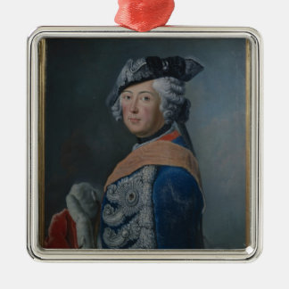 Frederick II the Great of Prussia, after 1753 Christmas Ornament