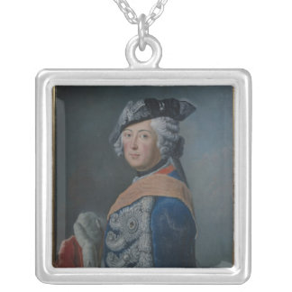 Frederick II the Great of Prussia, after 1753 Silver Plated Necklace