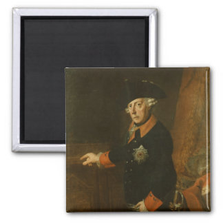 Frederick II The Great of Prussia, c.1763 Magnet