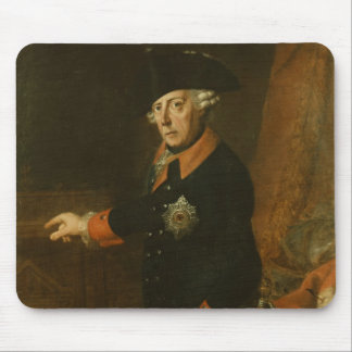 Frederick II The Great of Prussia, c.1763 Mouse Mat