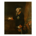Frederick II The Great of Prussia, c.1763 Poster