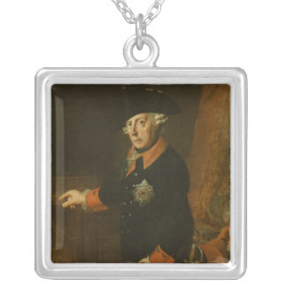 Frederick II The Great of Prussia, c.1763 Silver Plated Necklace