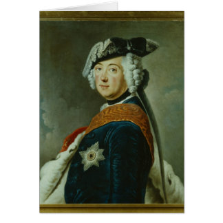 Frederick II the Great of Prussia Card