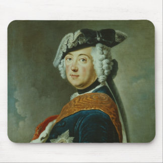 Frederick II the Great of Prussia Mouse Mat