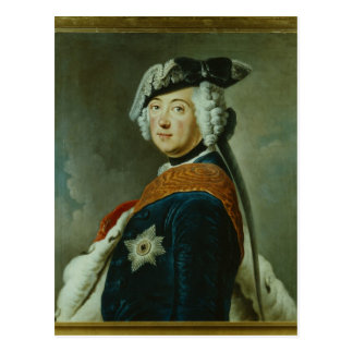 Frederick II the Great of Prussia Postcard