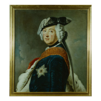 Frederick II the Great of Prussia Poster