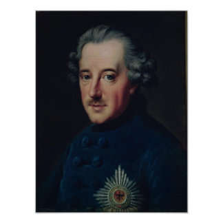 Frederick II the Great Poster