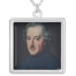 Frederick II the Great Silver Plated Necklace