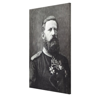 Frederick III from Leisure Hour 1888 Stretched Canvas Print