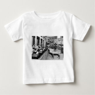 Frederick & Nelson Raindeer in the Window Baby T-Shirt