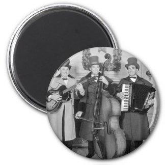 Frederick & Nelson Strolling Minstrels 6 Cm Round Magnet