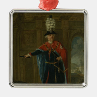 Frederick the Great dressed in the costume Christmas Ornament