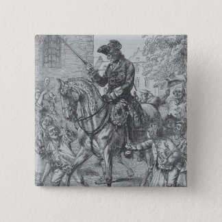 Frederick the Great of Prussia 15 Cm Square Badge