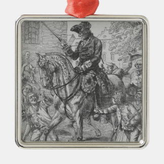 Frederick the Great of Prussia Christmas Ornament