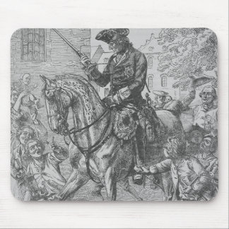 Frederick the Great of Prussia Mouse Mat