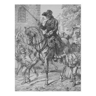 Frederick the Great of Prussia Postcard