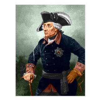 Frederick the Great Post Card