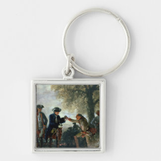 Frederick the Great  with Zieten at the Camp Key Ring