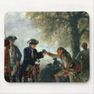 Frederick the Great  with Zieten at the Camp Mouse Mat