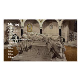 Frederick the Great's Mausoleum, Potsdam, Berlin, Business Card