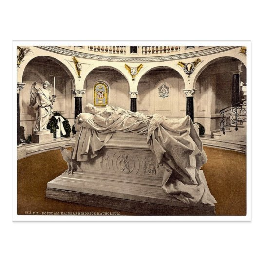 Frederick the Great's Mausoleum, Potsdam, Berlin, Postcard