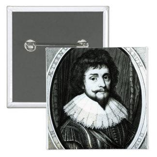 Frederick V , King of Bohemia 15 Cm Square Badge