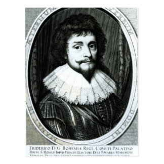 Frederick V , King of Bohemia Postcard