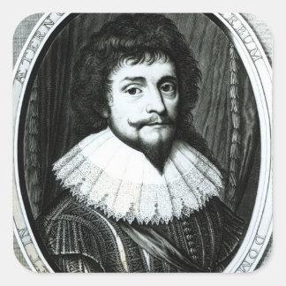 Frederick V , King of Bohemia Square Sticker