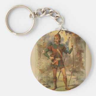 Frederick warde, 'Runnyede', Robin Hood Vintage Th Key Ring